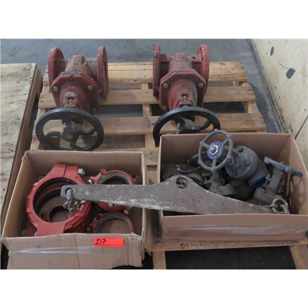 Pallet Multiple Valves MC70, Couplings, Chains Misc Sizes
