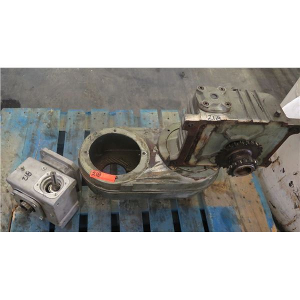 Pallet Gears & Gearmotors