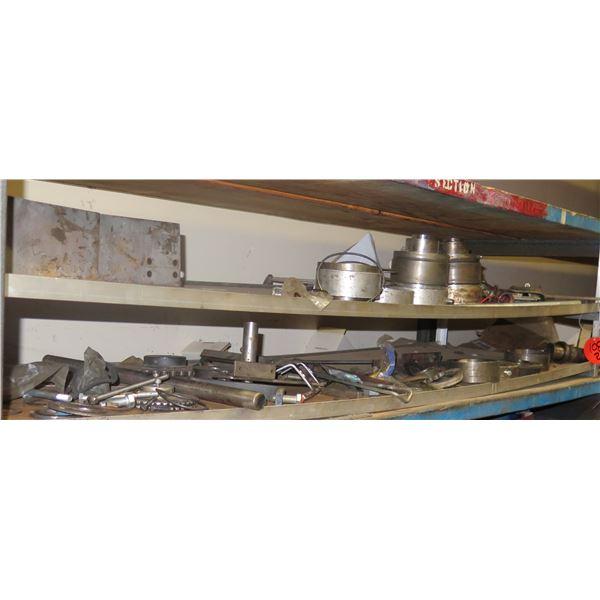 Contents of 2 Shelves: Bolts, Hardware, Koyo Bearings, etc