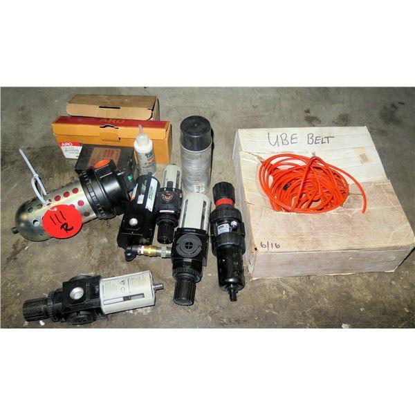 Multiple ARC Gauges, Filters, Regulators, Ube Belt, Cable