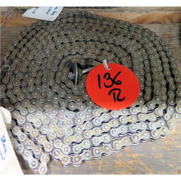"Coil Gear Roller Chain 6""W"