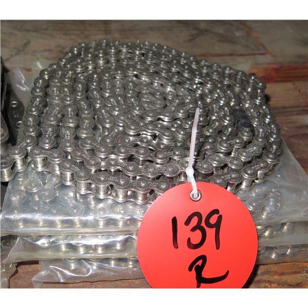 Multiple Coils HI-Max 40SS Gear Roller Chain