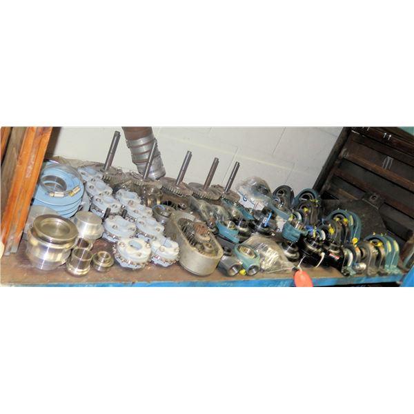 Contents of Shelf:  CHTH Oil Bearings, Dodge 121818 Block Bearings, Seals, etc