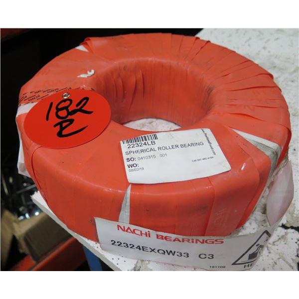 "Nachi Bearings Spherical Roller Bearings 10""D  22324EXQW33 C3"