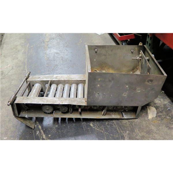 Small Conveyor with Hopper