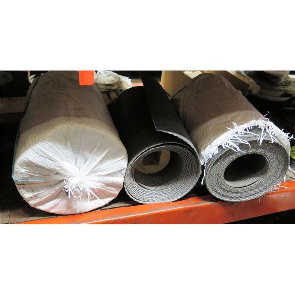 "Qty 3 Rolls Conveyor Belt Lengths 18""W"