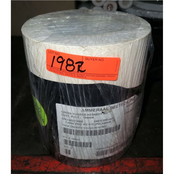 Roll Ammeraal BelTech Fabric ES, C 6/2 0+0 (PU) Natural FG