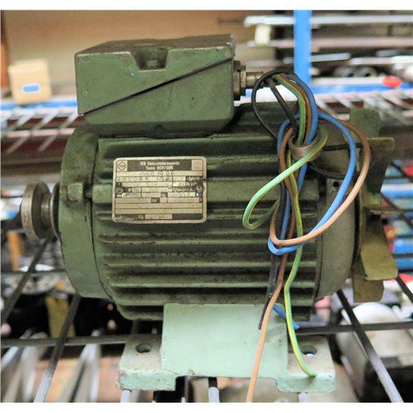 VEB Elektromotorenwerke Thurm DDR/GDR KMER80GB Motor
