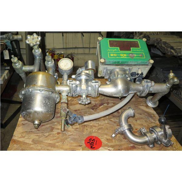 Spangler Valve Company Digibatch Automatic Metering Unit & Pilot Operated Valve