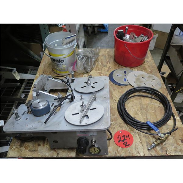Telepneumatic PRT System Supply Regulator w/ Wire Markers