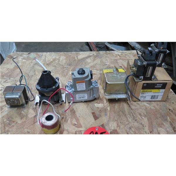 Edwards Transformer, Honeywell 24V Transformer, Solenoid, Timofier Assembly, Cable