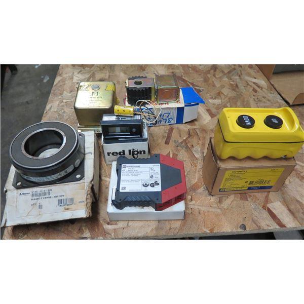 Pendant Station Control, Telemecanique Safety Module & Monitoring, Sporlan Coil