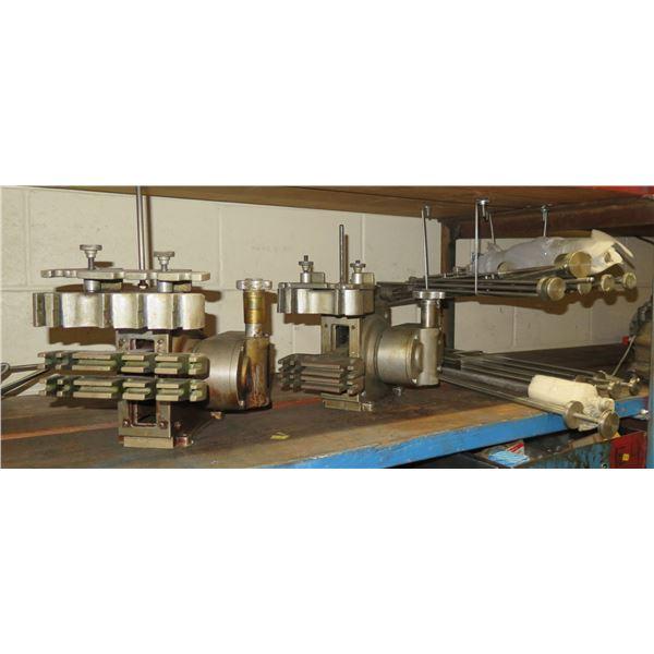 Qty 2 Roto-Flex Cutters, Multiple Metal Rods,