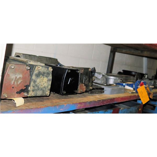 Contents of Shelf: Centro Matic Ram Pump G3G63, Multiple K