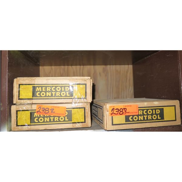 Qty 3 Boxes Mercoid Control Electrical Rating Mercury Switches DA-31-153-9