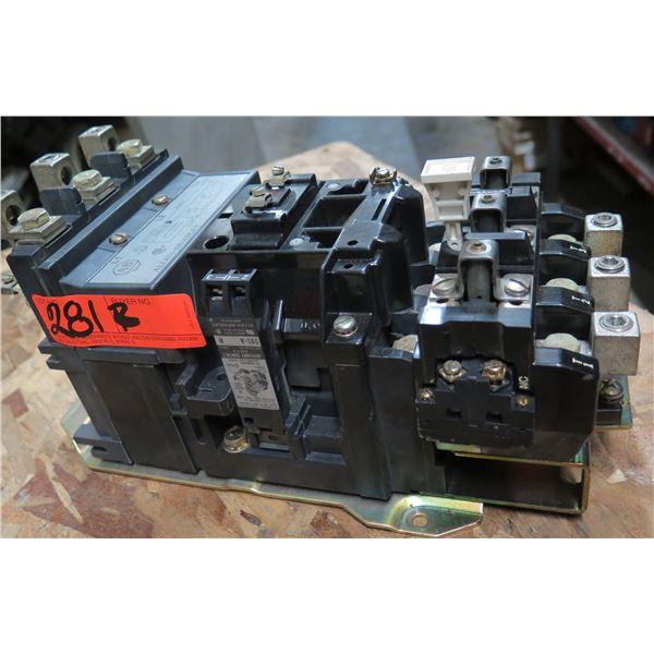 Allen-Bradley Overload Relay 40185-801-01 & Starter Contactor 509-D0D
