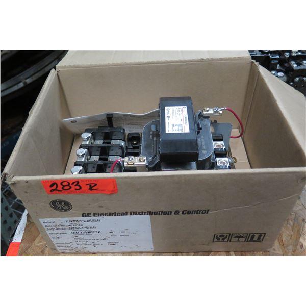 GE General Electric Magnetic Starter Nema Size3 CR306E002
