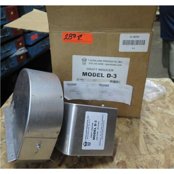 Tjernlund Products Draft Inducer Model D-3 & Fasco Motor Type U63 71636058