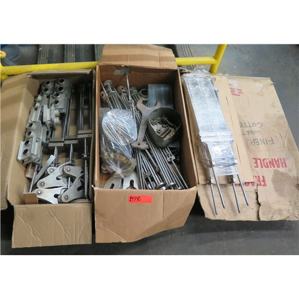 Qty 3 Boxes Finer Donut Cutters, Donut Hole Punches, etc