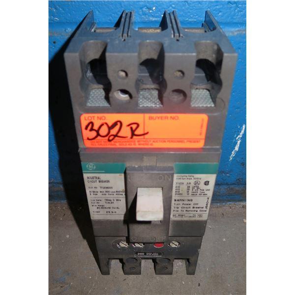GE General Electric Industrial Circuit Breaker TFJ236200