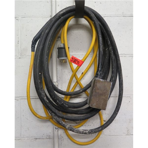 Air Hose w/ 20A 480V Box & Locking End