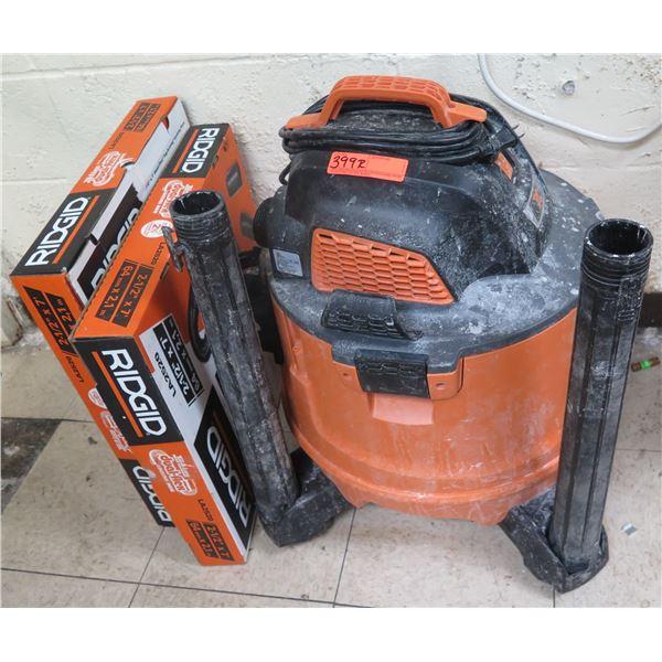 Ridgid NXT 120V Wet/Dry Vac w/ Attachments HD14000