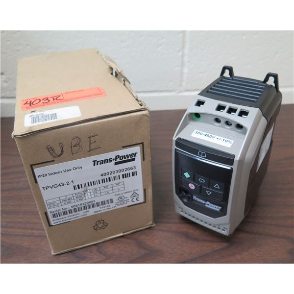 Trans-Power Variable Frequency Drive TPVG43-2-1