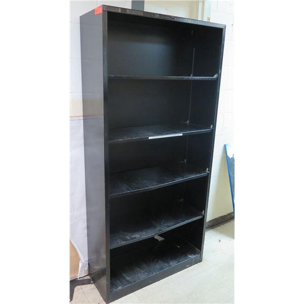 """Black 5 Tier Shelf 35""""x13""""x71""""H"""