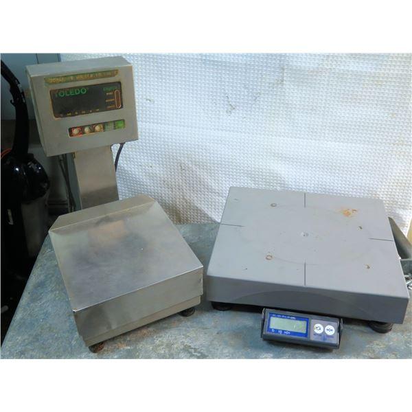 Toledo Digital Scale 3026 & PS60 Parcel Scale