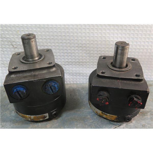 Qty 2 Parker Nichols Hydraulic Motors 110-2-RP-0/110A-054-FP-0