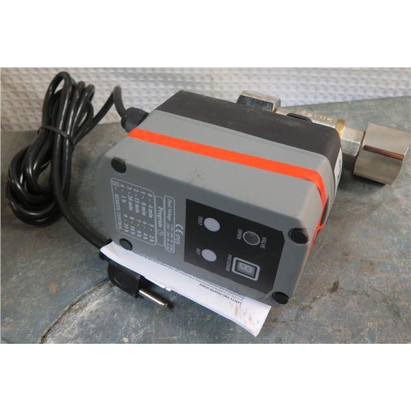 "Dual Voltage Remote Control 4100 1""NPT, 115 VAC, 600 PSI Motorized Ball Valve"