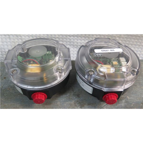 Qty 2 Badger Meter XTMR Butterfly Valve Flow Meters Model PFT1E