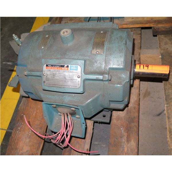 Reliance Electric Co. Easy Clean A-C Motor 2YAB6C477A2