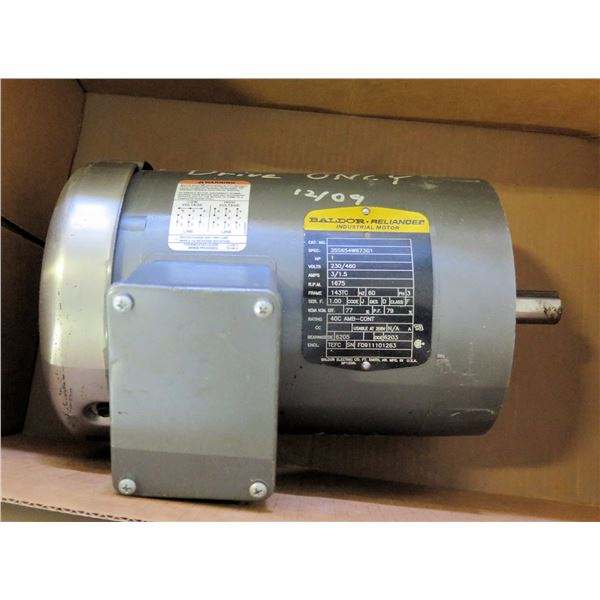 Baldor Reliance Industrial Motor 35S654W873G1 (Drive Only)