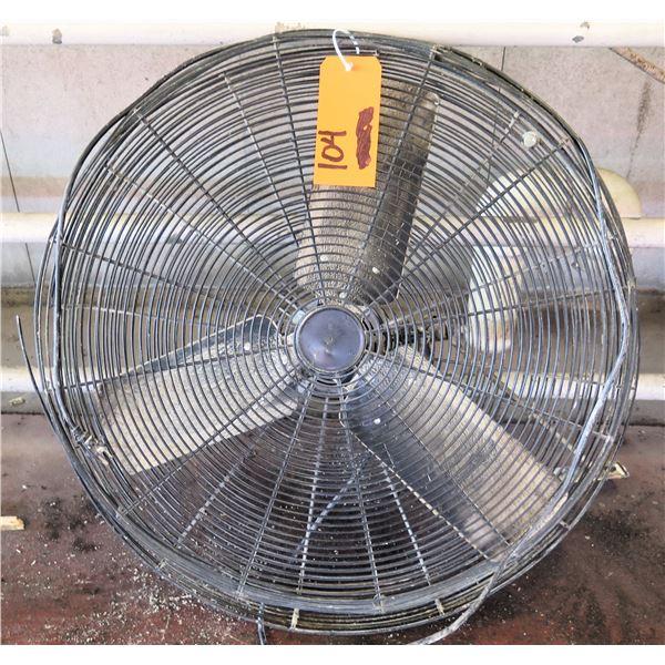 """Dayton Industrial Fan Model MDU75-12060-3  Diameter 33"""""""