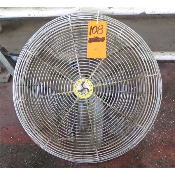"""Air Master Fan Co. Industrial Fan Model 78018 Diameter 32"""""""