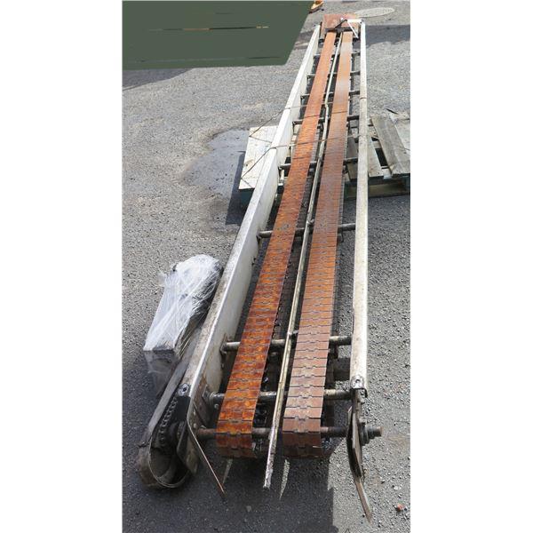 "Lanham Dual Conveyor Belt System 7795 233""L x 24""W"