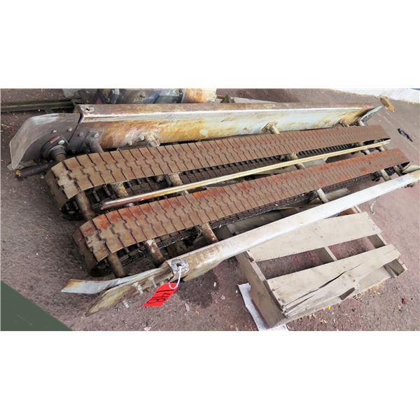 "Commercial Dual Conveyor Belt System 98""L x 24""W"