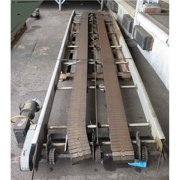 Commercial Dual Conveyor Belt System