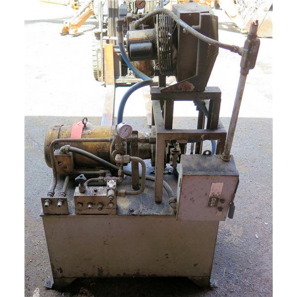 Baldor SuperE Motor CEM3714 w/ Bosch Rexroth Pump 0513500220