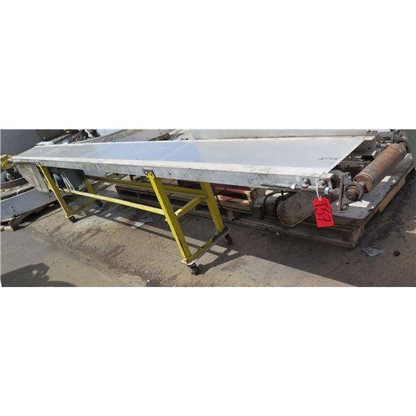 "Square D Raised Conveyor Belt Metal Section 201"" x 16"""