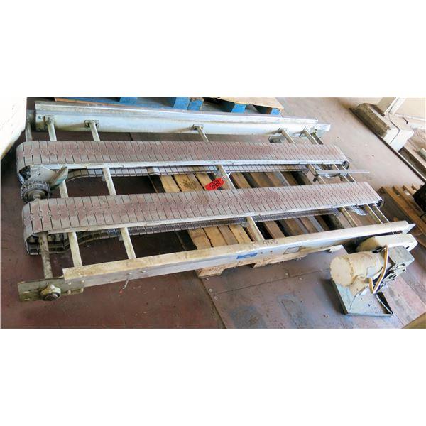"OHIO Commercial Dual Conveyor Belt System 94""L x 48""W"