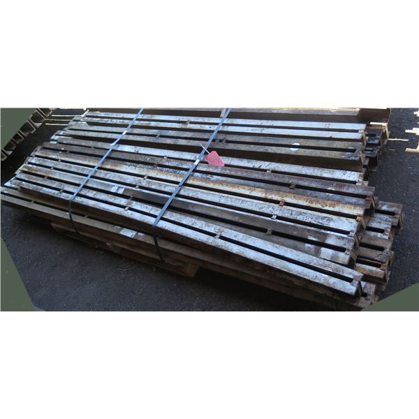 """Pallet Multiple Channel Iron & I-Beams Misc Lengths Including 92""""L x 4""""W x 4""""H"""