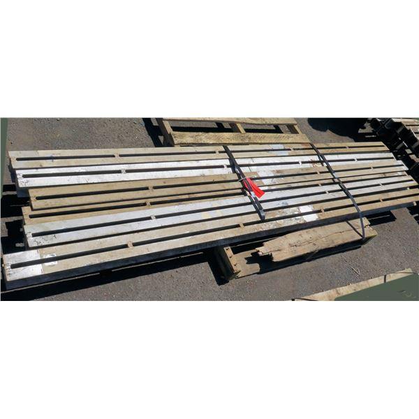 Pallet Multiple Slotted I-Beams Misc Lengths Including 95 L