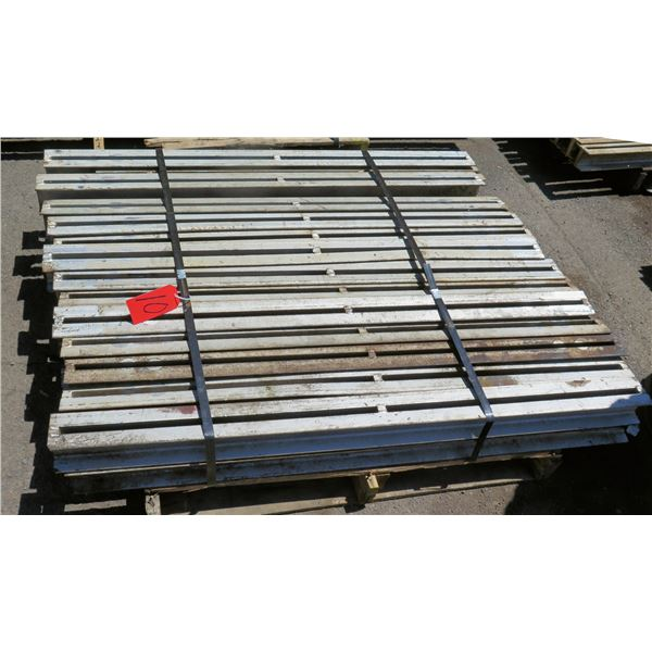 Pallet Multiple Slotted I-Beams Misc Lengths Including 54 L x 4 W x3 H