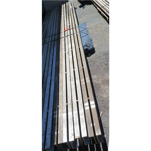 """Pallet Multiple Slotted I-Beams Misc Lengths Including 202""""L x 4""""W x3""""H"""