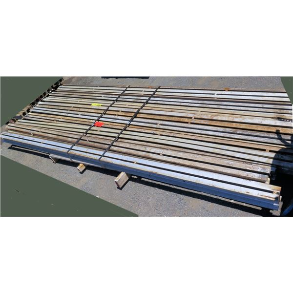 Pallet Multiple Slotted I-Beams Misc Lengths Including 144 L x 4 W