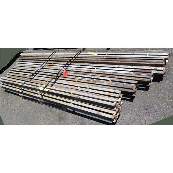 Pallet Multiple Slotted I-Beams Misc Lengths Including 100  & 128 L