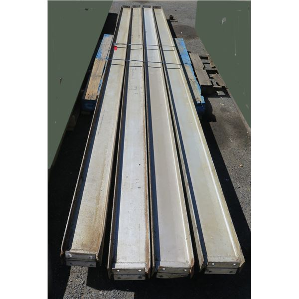 Pallet Multiple Channel Iron Misc Lengths Including 216 L  CSC-USA 5x18 4# 7-9714