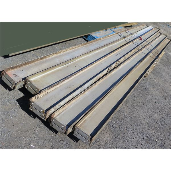 Pallet Multiple Channel Iron Misc Lengths Including 240 L   18 4# 7-9714